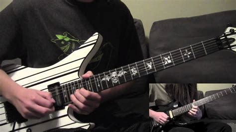 synyster gates buried alive avenged sevenfold buried alive guitar cover hd youtube