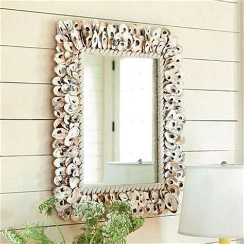 oyster shell mirror european inspired home decor