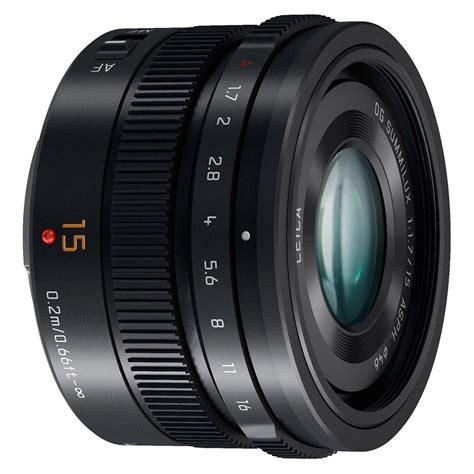 panasonic lens panasonic panasonic lumix 15mm leica f1 7 lenses for