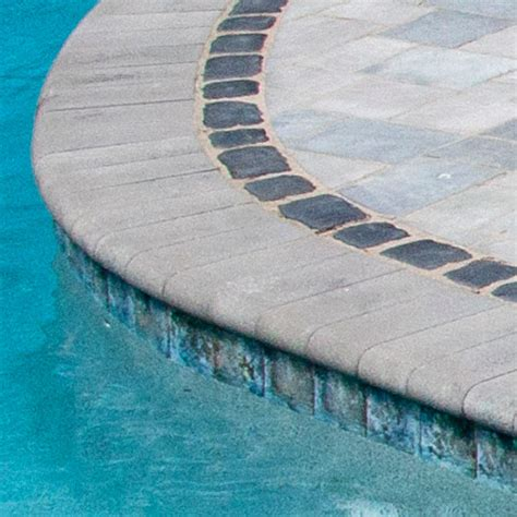 Unilock Coping Fullnose Edger Limestone Pool Coping Contemporary