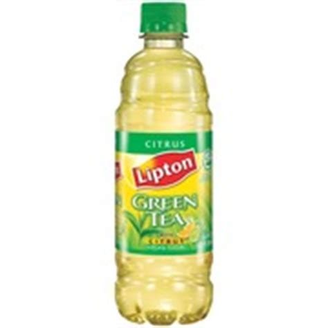 Drink Of The Month Alabama Iced Tea Ni by Lipton Iced Tea Green Tea W Citrus Calories Nutrition