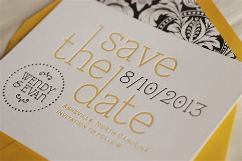Save The Date Cards by Save The Date Cards Paper Posh