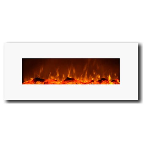 touchstone 50 quot electric wall mounted fireplace reviews - 50 Electric Wall Mounted Fireplace
