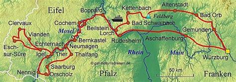 Motorradtouren Eifel Karte by Motorradreise Mosel Gef 252 Hrte Motorradtouren