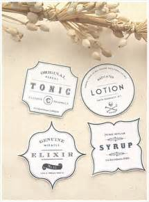 downloadable label templates diy vintage apothecary bottles free label