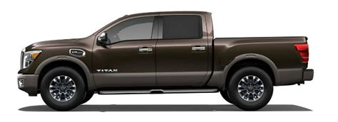 2017 nissan titan exterior color options
