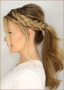 plait at back of hairstyle easy braided hairstyle ideas for medium length hair elle