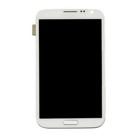 Samsung Tab Note 2 Second samsung galaxy note ii lcd touch screen housing white gsm