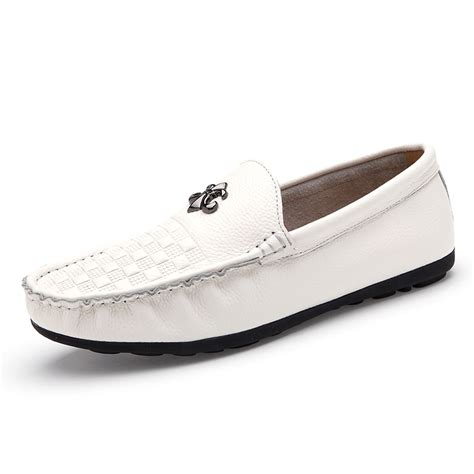 white leather loafers mens mens white leather loafer shoes 28 images vintage mens