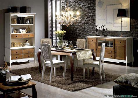 salas comedor de estilo vintage frances decoracion de salas