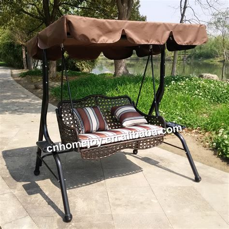 outdoor swing chair for sale hot sale outdoor metal wicker chair wicker swing chair