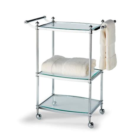 bathroom carts belmont 3 tier rolling bath cart frontgate