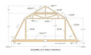 Truss Builder by Gambrel Roof With Attic