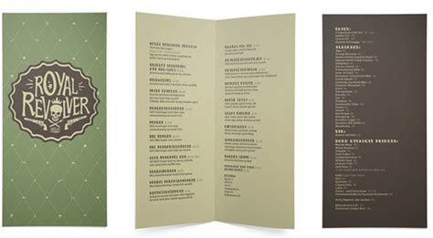 cafe menu book design 40 creative and beautiful restaurant menu designs pixel