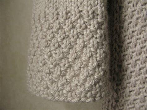 knitting pattern moss stitch scarf double moss stitch knitting pinterest