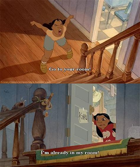 Lilo And Stitch Go To Your Room by Lilo And Stitch Quote Disney Quotes