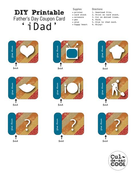 idad card template printable birthday coupons cake ideas and designs