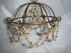 Make A Chandelier From Scratch Dollhouse Lighting On Pinterest Miniature Dollhouses And Ls