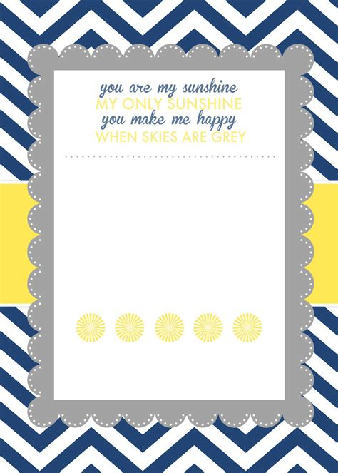 Baby Shower Free by Template Baby Shower Templates