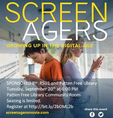 patten free library hours screenagers growing up in the digital age 183 patten free