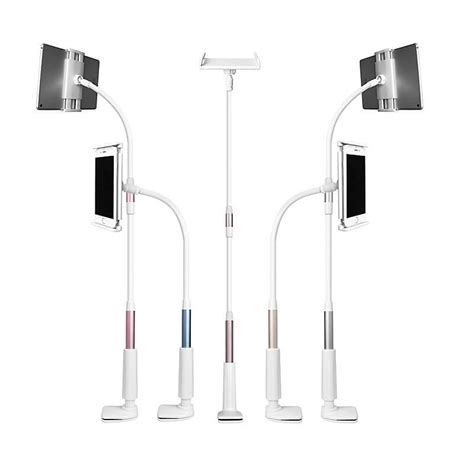 Lazy Tablet Phone Holder Duo miniso aluminum phone tablet arm lazy holder stand famstore