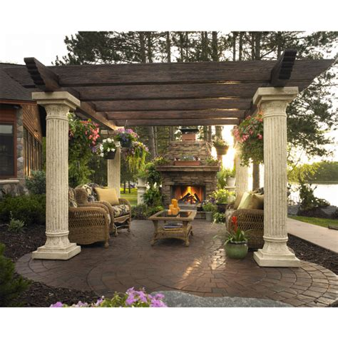 Tuscan Pergola | the tuscany pergola by the outdoor greatroom company