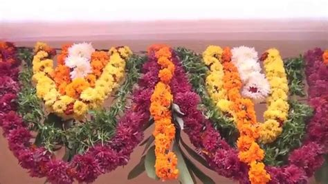 best housewarming gruhapravesam flower decorations in flower decoration for doors for occasions and functions