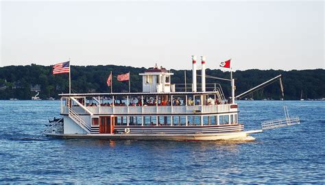 pedal boat chicago lady of the lake lake geneva cruise line