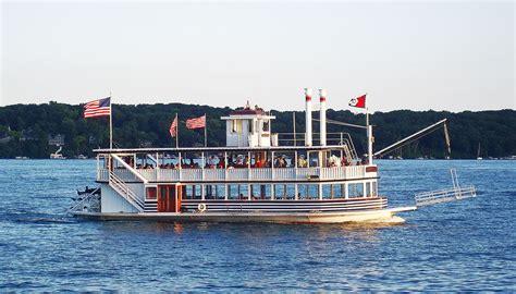 lake geneva boat cruise lady of the lake lake geneva cruise line
