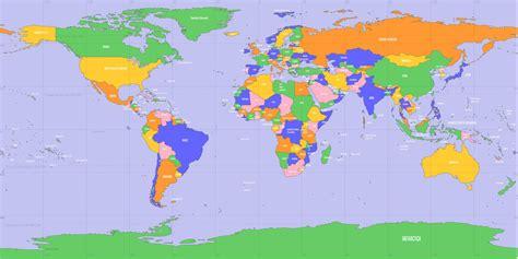 mapa mundo actual hgcyc historia genealog 237 a ciencias y curiosidades mapa