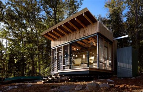 Off Grid Tennessee Micro Cabin Packs in High Design