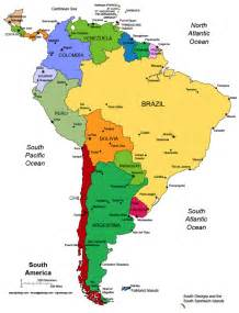 a map of central and south america central south america map blank beautiful scenery