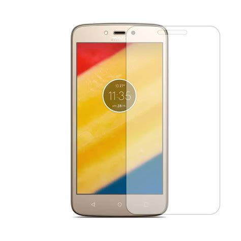 Tempered Glass Zen C Tempered Glass For Motorola Moto C Plus Fone4 Best Shopping Deals In Kerala Mobile Sales