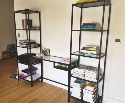 Desk Shelf Unit by Computer Desk With Printer Shelf Ikea Desk Decorating Ideas