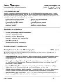 Exles Of Australian Resumes by Professional Cv Template Australia