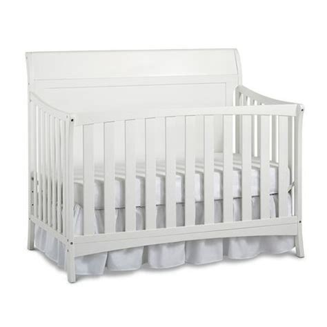 Fisher Price Crib by Fisher Price Georgetown Convertible Crib Snow White