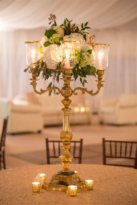 candelabra centerpieces with flowers best 25 gold candelabra ideas on feather