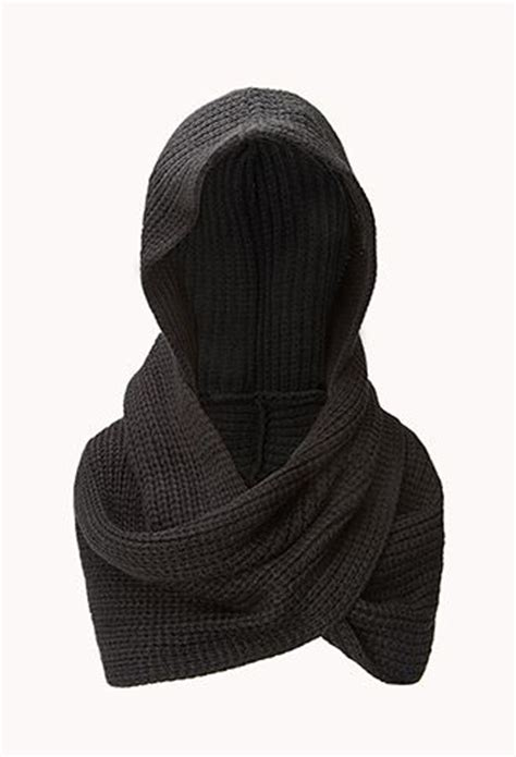 hooded hijab pattern fireside hooded scarf forever21 1000129020 crafty