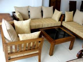 Sofa Sets For Living Room Wooden Sofa Set For Living Room