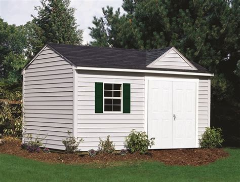 Best Vinyl Sheds by Why Vinyl Sided Sheds Are The Best Low Maintenance Storage