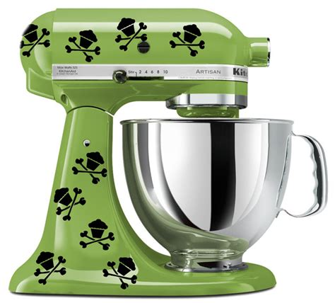Walking Dead Promotions   KitchenAid mixer art, 8 Skull cupcake decals   Online Store Powered by