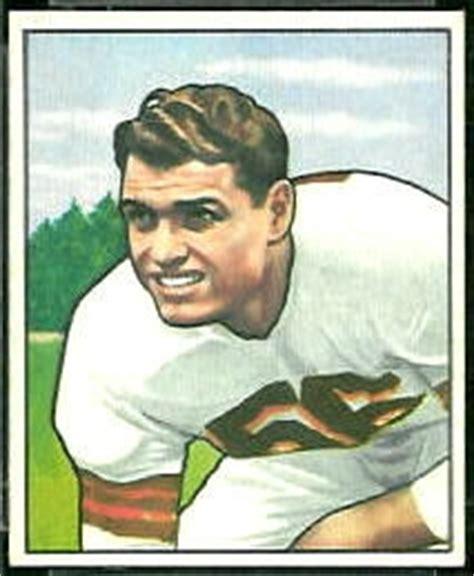 dante lavelli dante lavelli rookie card 1950 bowman 78 vintage
