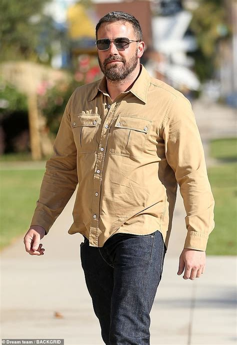 ben affleck smiles as he ben affleck smiles as he spends sunday at church
