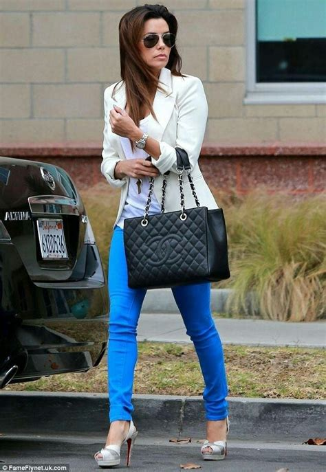 Longoria In Chanel by Longoria Chanel Bag Bright Blue Skinnys