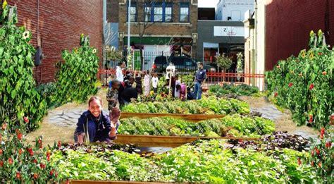 urban  community gardens  important