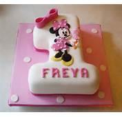 1st Birthday Cake Ideas Minie Mouse