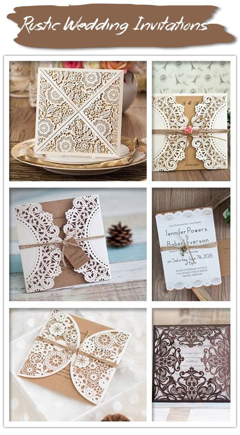 795 best images about rustic wedding invitations on country wedding invitations