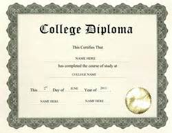 College Diploma Template by Free High School Diploma Templates Geographics