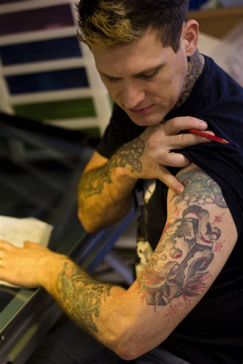 kyle dunbar tattoo artist convention at ta convention center