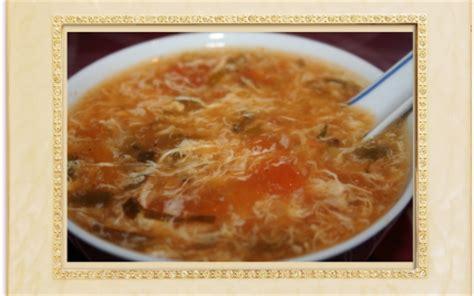 recette soupe chinoise aux oeufs  aux tomates